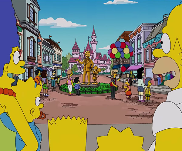 The Simpsons' Disney References