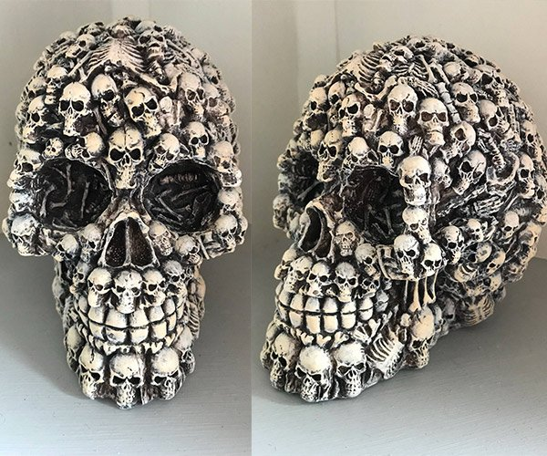 Skull of Skulls Sculpture
