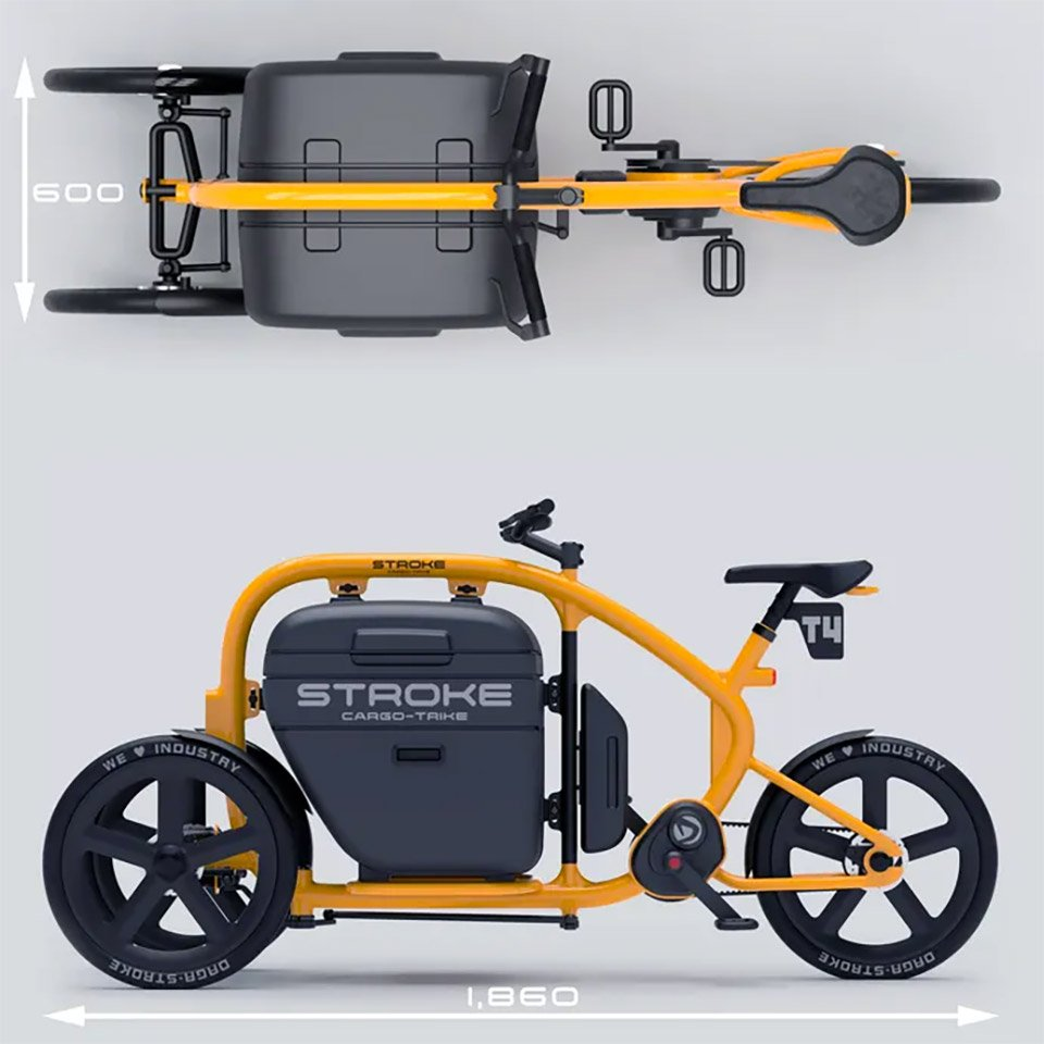Stroke Cargo Trike