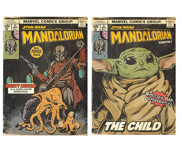 The Mandalorian Vintage Comics