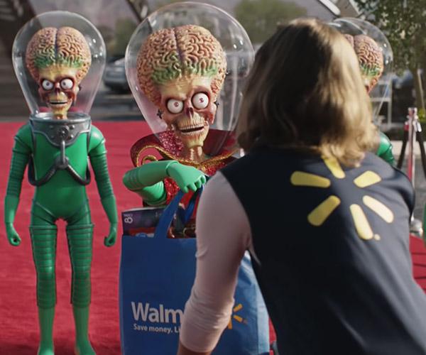 Walmart: Famous Visitors