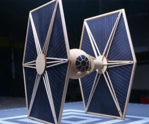 How to Make a Wood TIE Fighter