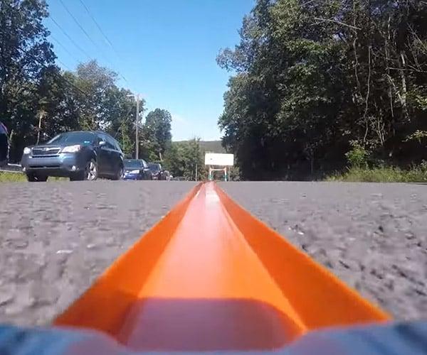 World's Longest Hot Wheels Track