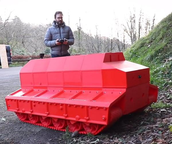 3D Printed R/C Tank