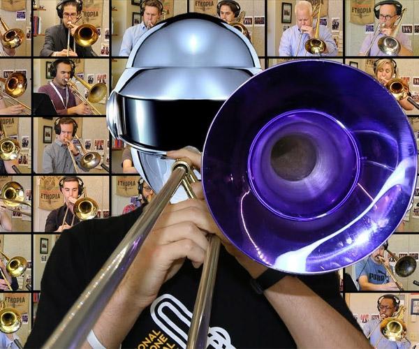 48 Musicians Play Daft Punk