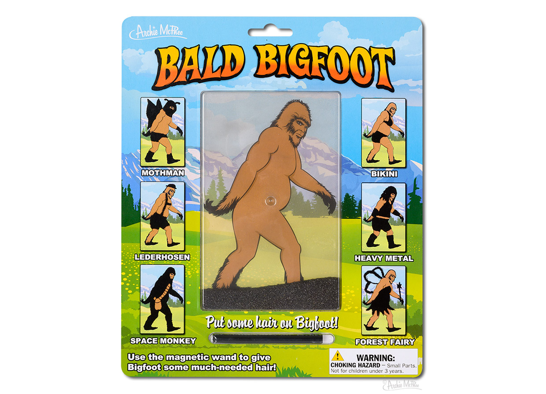 Bald Bigfoot Magnetic Toy
