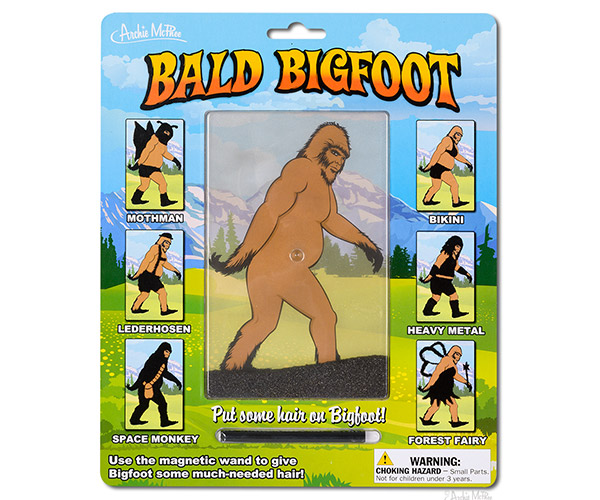 Bald Bigfoot Magnetic Toy