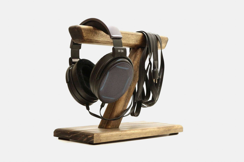 Beveled Edge Headphone Stands