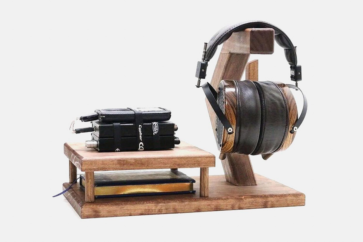 Beveled Edge Headphone Stands