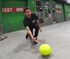 Bowling Ball Trick Shots