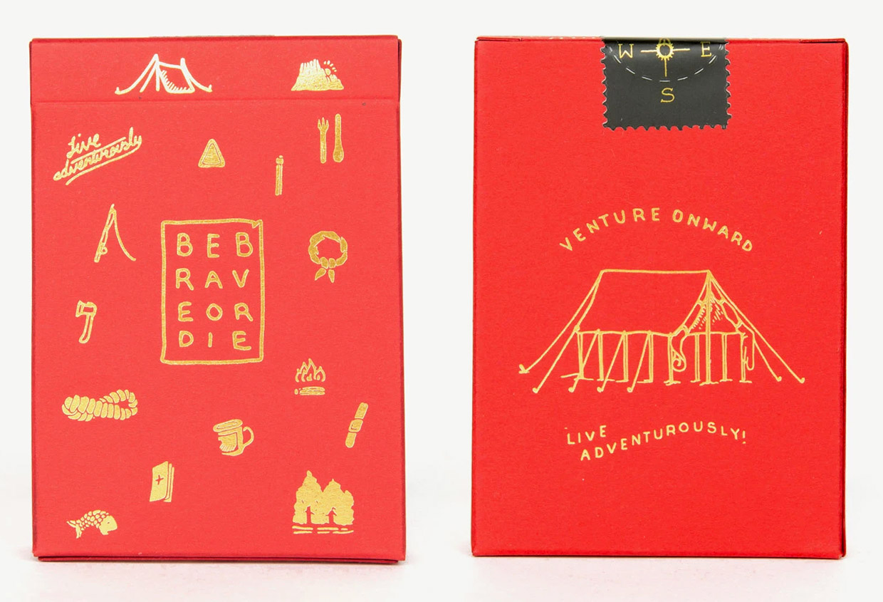 Bradley Mountain Camp Cards
