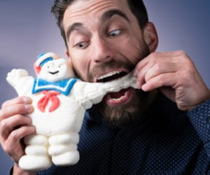 Edible Stay-Puft Marshmallow Man