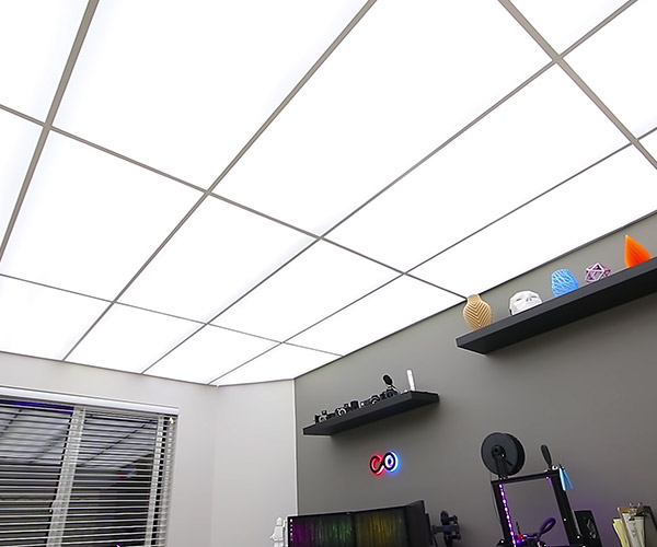 Making a Full LED Ceiling