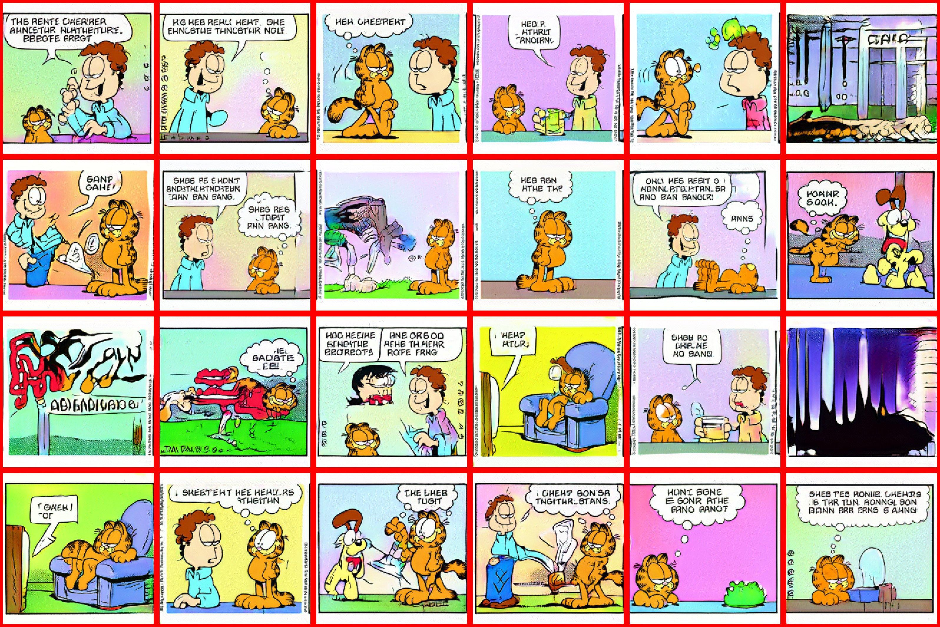 Garfield on Acid