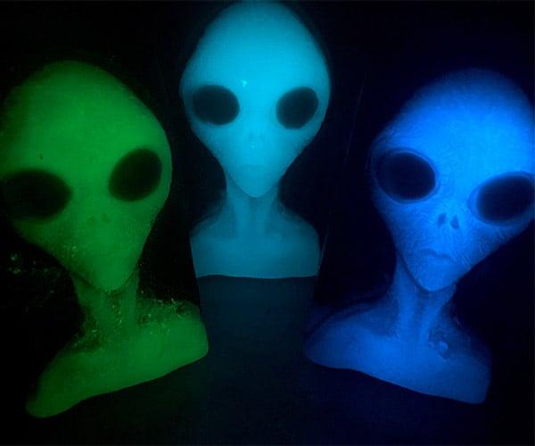 Glowing Alien Soaps