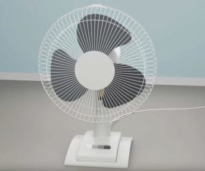 How an Oscillating Fan Works