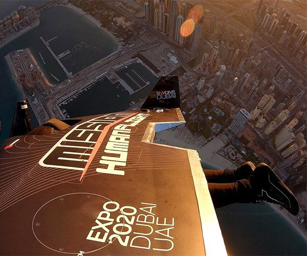 Jetman over Dubai