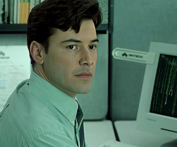 Keanu in Office Space