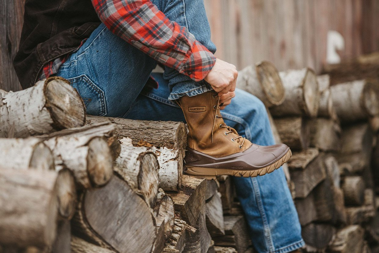 LaCrosse Aero Timber Top Duck Boots