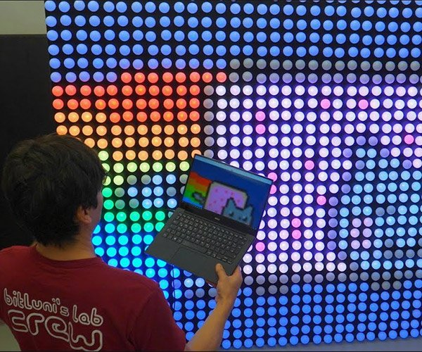 Ping Pong LED Video Wall 2.0