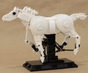 Galloping LEGO Horse