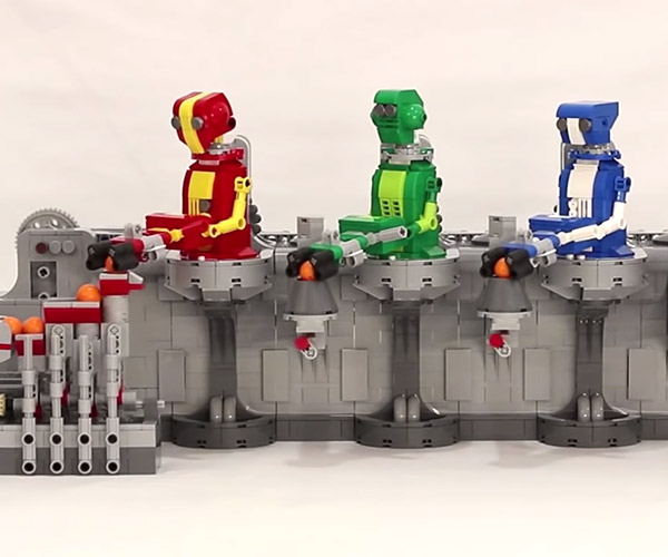LEGO Robot GBC Module