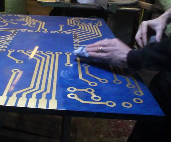 Making a Circuit Board Table