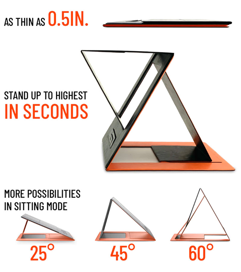 MOFT Z Standing Laptop Desk