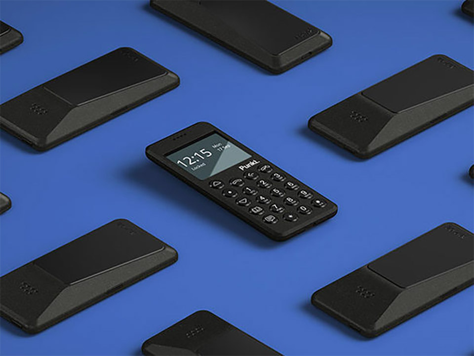 MP02 Minimalist Mobile Phone