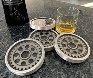 Radial Engine Drink Coasters