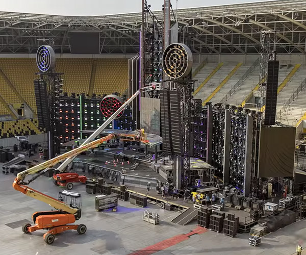 Rammstein Setup Time-lapse