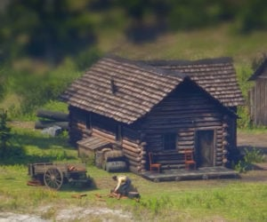 Tilt-Shift Red Dead Redemption 2