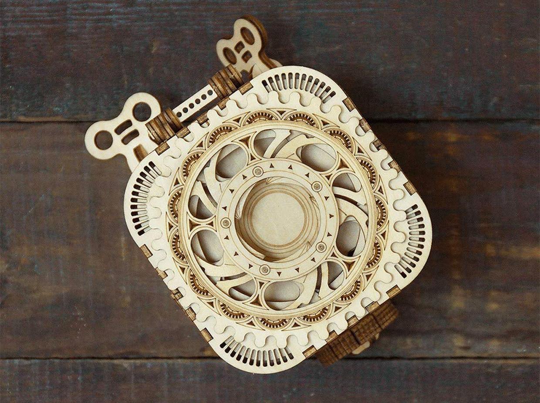 Rokr Wood Treasure Box