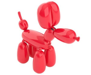 Squeakee Balloon Dog Robot