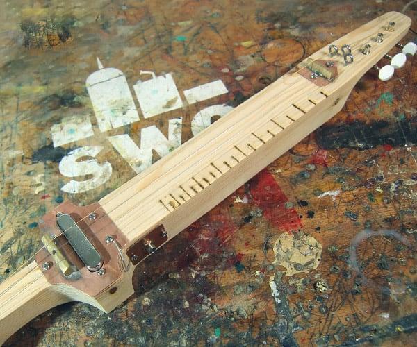 Making a Sword Lap Guitar