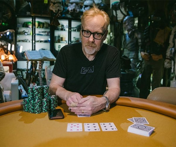 Adam Savage Builds a Poker Table