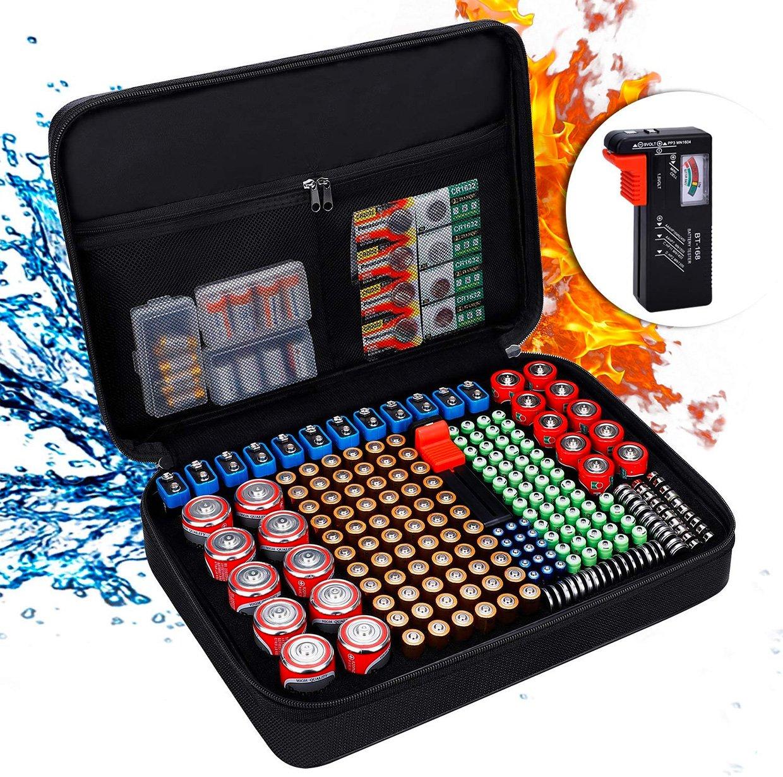 Battery Organizer Briefcase