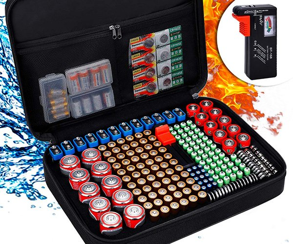 Battery Organizer Briefcase