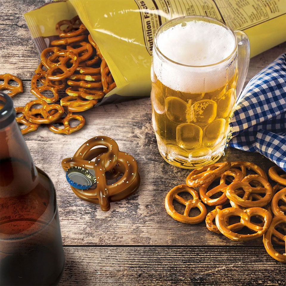 Beer Pretzel Bottle Opener