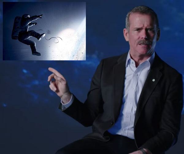 Chris Hadfield Reviews Space Movies