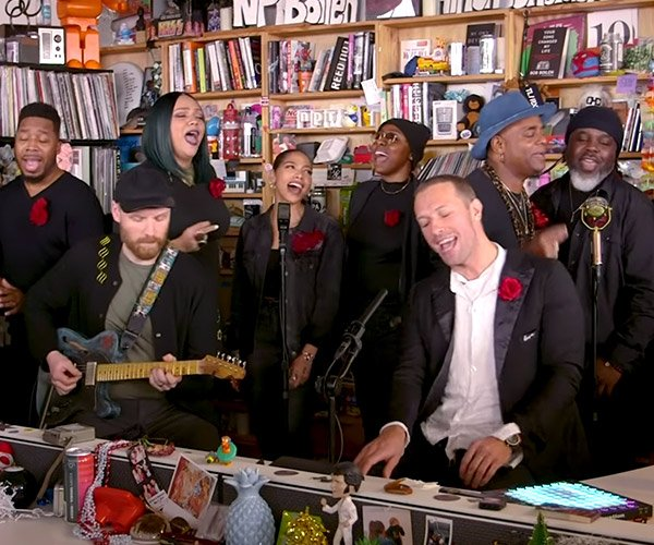 Coldplay: Tiny Desk Concert