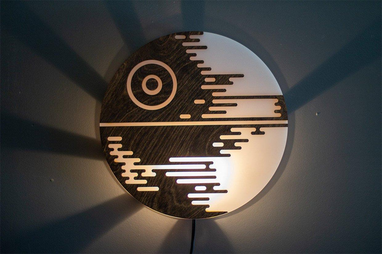 Death Star Wall Lamp