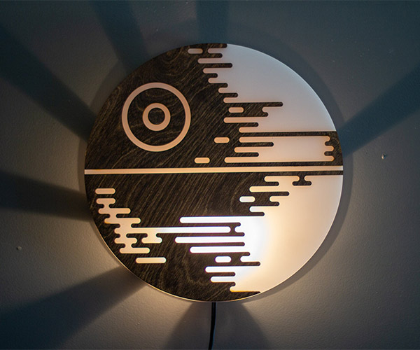 Death Star Wall Lamp