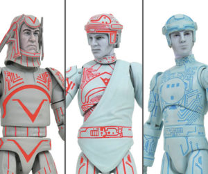 TRON Select Wave 1 Figures
