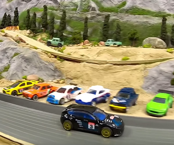 Diecast Rally Racing