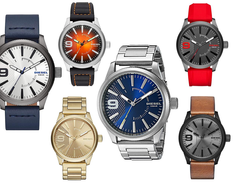Diesel Rasp Watches