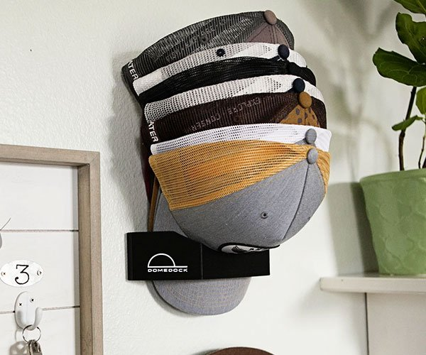 DomeDock Baseball Cap Rack