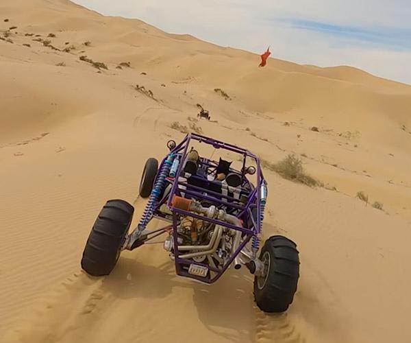Chasing Sand Rails