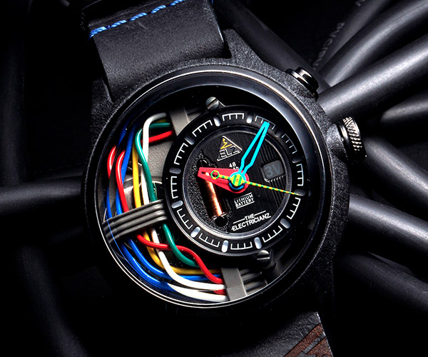 Electricianz Carbon Z Watch