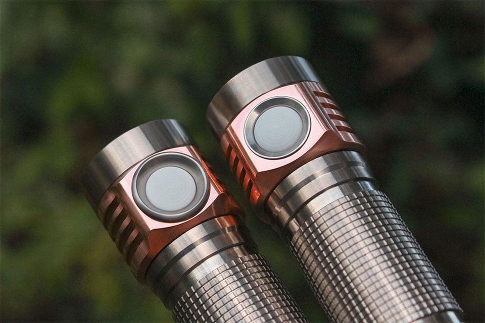 Emisar D4V2 Ti Flashlight